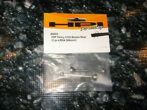 RC HPI Racing RS4 MIP Silver Dogbone Axles (2) 80802