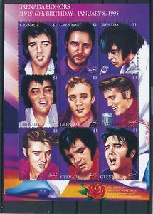 [G28065] Grenada Elvis Presley good sheet very fine MNH