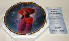 Star Trek TNG 5th Anniversary Series 'GUINAN' Plate ~ Morgan