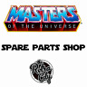 Vtg MOTU He-Man & New Adventures Figure Parts Accessories Weapons Vehicles 1980s