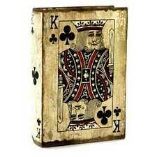 King of Clubs Book Box Cards Storage. Cool Decorative Box Look great any Where.