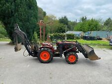 Kubota B7100D Compact Tractor With Excavator and front loader