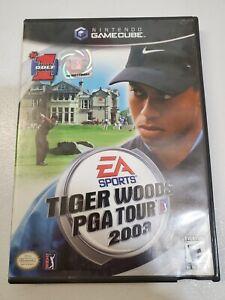 Nintendo game cube Tiger Woods PGA Tour 2003 Golf Game Disc Case