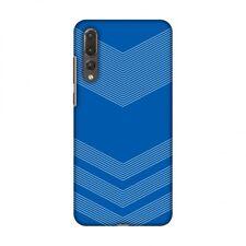 AMZER Carbon Fibre Coral Blue 2 Hard Plastic Cover Slim Printed Snap On Case