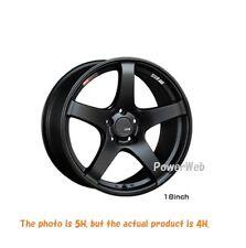 SSR GT V01 15x4.5 4-100 +43 FLAT BLACK  15inch *1rim price