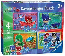 Ravensburger PJ Masks 4 in Box Jigsaws - 12 16 20 24 Pieces