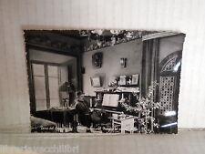 Vecchia cartolina foto d epoca di TORRE LAGO PUCCINI MAESTRO AL PIANOFORTE VILLA