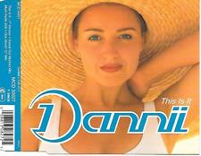 DANNII MINOGUE - This is it CDM 4TR Europe release 1993 House