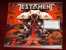 Testament: Brotherhood Of The Snake CD 2016 Nuclear Blast NB 3327-0 Digipak NEW