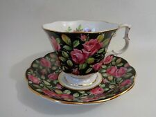 Royal Albert Cup & Saucer TRENTHAM Merry England Series Roses