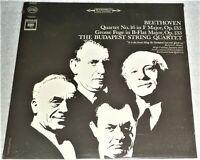 """STILL SEALED"" VINYL LP by THE BUDAPEST STRING QUARTET / BEETHOVEN (1964) MS6387"