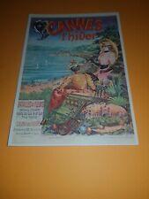 carte postale ancienne: CANNES L'HIVER
