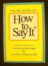 The Big Book of How to Say It by Rosalie Maggio and Jack Griffin