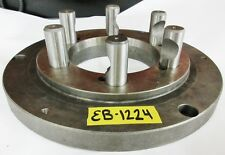 """POLAND 12-1/2"""" Chuck Adapter Plate D1-8 Spindle Mount 1"""" Thickness"""