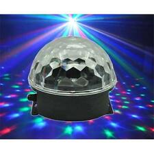 EXTREME CRYSTAL BALL 31 EFFETTO LUCE LED MAGIC RGB 3x1W SFERA A LED INDOOR