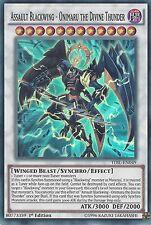 YUGIOH ASSAULT BLACKWING ONIMARU THE DIVINE THUNDER SUPER RARE TDIL-EN049 1ST ED