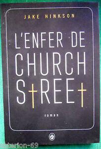 L'ENFER DE CHURCH STREET JAKE HINKSON THRILLER GD FORMAT