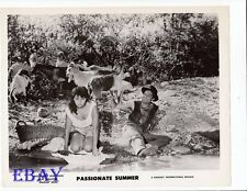 Magaly Noel busty, Raf Vallone sexy VINTAGE Photo Passionate Summer