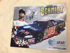 "Eric Schmidt 2007 Autographed Bio 8""x10"" Color Print, All American Speedway"