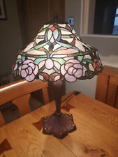 Tiffany Style Large Tabe Lamp, New