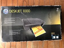 New HP Deskjet 1000 Standard Inkjet Printer J110a