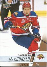 Anderson MacDonald #242 - 2017-18 CHL - Base - Moncton Wildcats