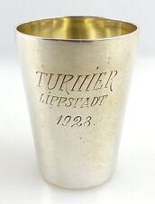 Original alter Schnapsbecher /Wodkabecher aus 800 (Ag) Silber 1928 e1315