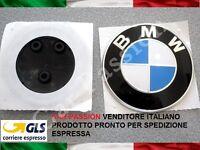 1 logo fregio BMW originale COFANO ANTERIORE 82mm front hood emblem 51767288752