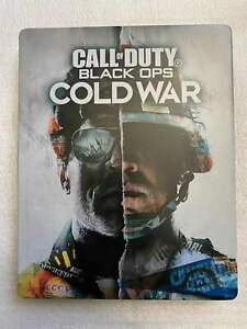 """Call of Duty: Black Ops Cold War Steelbook Case PS4/XBOX (NO GAME DISC) """"CUSTOM"""""""
