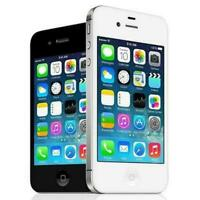 Apple iPhone 4S 8GB 16GB 32GB Unlocked Black White Smartphone - phone / BOX PACK
