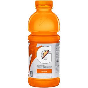 Gatorade Orange Flavour Energy Drink 20fl.oz (600 ml) x 6 bottles