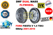 Para Ford Fiesta V 1.4 TDCI 68bhp 2001-2010 Nuevo Dual Masa Dmf Volante