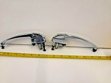 2 CLASSIC CHROME DOOR HANDLES GENERIC TO SPITFIRE Mk2-3, MG MIGET + MGB TR5 TR6