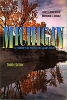 Michigan: A History of the Great Lakes Stat... by Rubenstein, Bruce A. Paperback