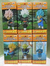 NEW Dragon Ball Z Super WCF vol.7  037 ~ 042 Full Set World Collectable Figure