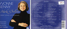 YVONNE KENNY - MAKE BELIEVE CLASSIC SONGS OF BROADWAY - OZ 19 TRK CD - OPERA