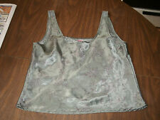Victoria's secret ladies green tank top size med.