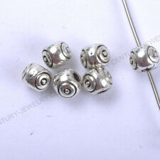 NP113 Wholesale 100pcs Tibetan Silver Spacer Charms Beads 4X5MM