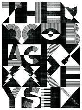 The Black Keys 2012 Poster Edmonton Alberta Signed & Numbered #/210 Rare!