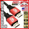 4K HDMI 2.0 Cable UHD Ultra HD HDTV 3D 2160P HDR 120Hz 18Gbps Dolby HDCP 2.2 Lot