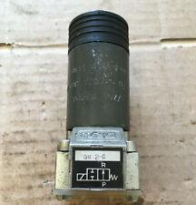 NEU HAWE GS2-0 24V DC 2/2 Wegeventil Baugröße 0 Plattenaufbau Hydraulikventil