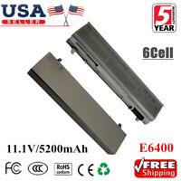2Pack 5200mAh Battery For Dell Latitude E6400 E6410 E6500 E6510 PT434 Laptop CL