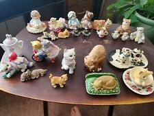 Calico kittens figurines enesco