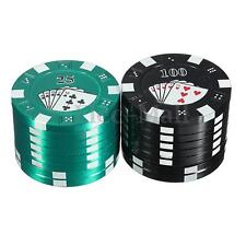 40mm 3 Layers Metal Poker Herb Grinder Herbal Cigar Spice Hand Muller Crusher