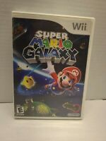 Super Mario Galaxy (Nintendo Wii, 2007).  CIB Tested Fast Shipping