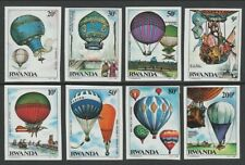 Rwanda**BALLOONS-BALLON-IMPERFORATE-Cat 22€-NONDENT-ONGTD-1984-LUFTBALLON