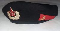 Russian Soviet NAVY Military Black Beret Hat