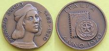 MEDAGLIA GETTONE TOKEN - ITALIA ANNO 1970 - 250 MORTE RAFFAELLO SANZIO 1483/1520