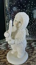 """Dept 56 Winter Tales of the Snowbabies """"Just One Little Candle"""" (68233)"""