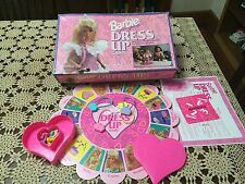 1993 GOLDEN BARBIE FOR GIRLS DRESS UP GAME GUC NOT COMPLETE
